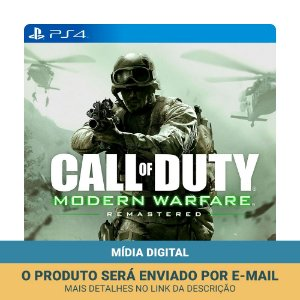 Jogo Call of Duty 4: Modern Warfare Remastered (Mídia Digital) - PS4
