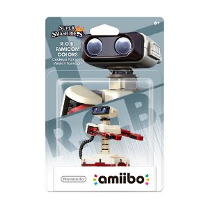 Nintendo Amiibo: R.O.B. Famicom Colors - Super Smash Bros. - Wii U e New Nintendo 3DS
