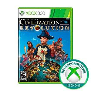 Jogo Sid Meier's Civilization: Revolution - Xbox 360