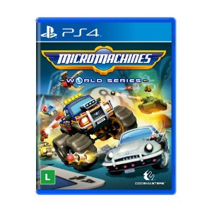 Jogo Micro Machines: World Series - PS4