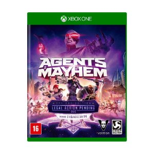 Jogo Agents of Mayhem (Day One Edition) - Xbox One