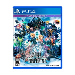 Jogo World of Final Fantasy (Day One Edition) - PS4