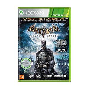 Jogo Batman: Arkham Asylum (GOTY) - Xbox 360