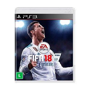 Jogo Fifa 18 (FIFA 2018) - PS3