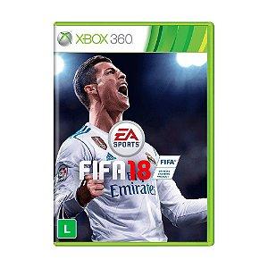 Jogo Fifa 18 (FIFA 2018) - Xbox 360