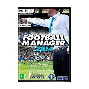 Jogo Football Manager 2014 - PC