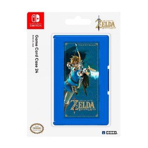 Porta Jogos Nintendo Switch: The Legend of Zelda (Game Card Case 24) Hori - Switch