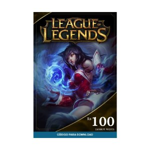Cartão Presente RP League of Legends R$100