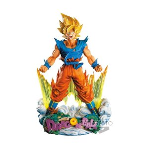 Action Figure Son Goku Dragon Ball Z - The Brush - Super Master Stars Diorama - Banpresto