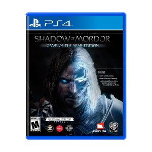 Jogo Middle-Earth: Shadow of Mordor (GOTY) - PS4