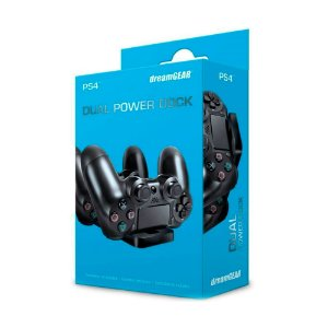 Carregador DreamGEAR para 2 Controles Dual Power Dock - PS4