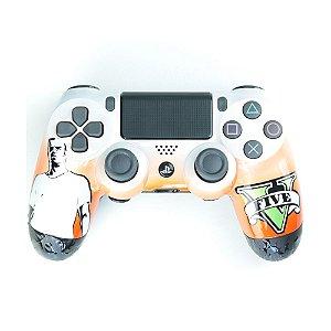Controle Dualshock 4 GTA 5 Trevor sem fio - Alta Performance - PS4