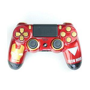 Controle Dualshock 4 Homem de Ferro sem fio - Casual - PS4