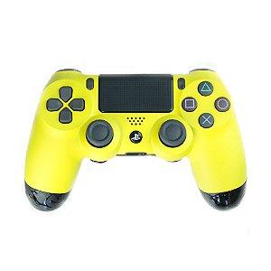 Controle Dualshock 4 Elite Amarelo sem fio - Alta Performance - PS4