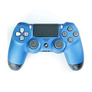 Controle Dualshock 4 GG Metal Azul sem fio - Casual - PS4
