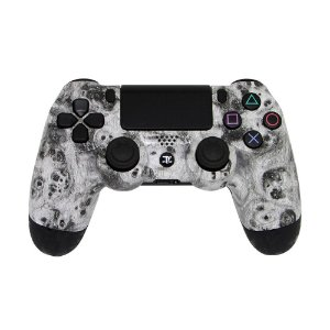 Controle Dualshock 4 White Dust sem fio - Casual - PS4