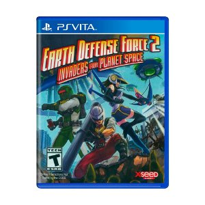 Jogo Earth Defense Force 2: Invaders from Planet Space - PS Vita