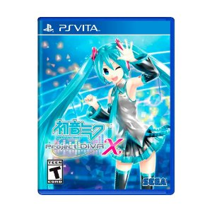 Jogo Hatsune Miku: Project Diva X - PS Vita