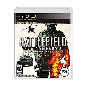 Jogo Battlefield: Bad Company 2 (Ultimate Edition) - PS3