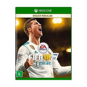 Jogo Fifa 18 Edição Ronaldo (FIFA 2018) - Xbox One