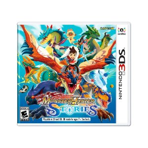 Jogo Monster Hunter Stories - 3DS