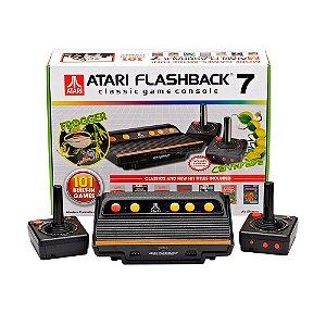 Console Atari Flashback 7 Classic + 101 Jogos + 2 Controles sem fio