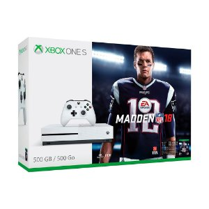 Console Xbox One S 500GB + Madden NFL 18 - Microsoft