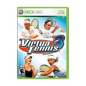 Jogo Virtua Tennis 3 - Xbox 360