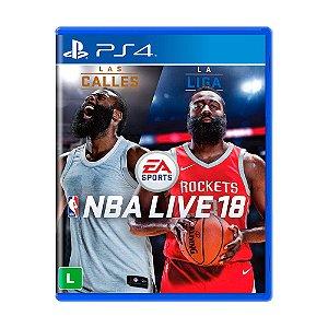 Jogo NBA Live 18 - PS4