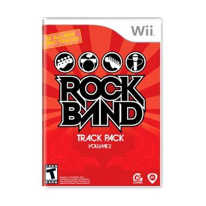 Jogo Rock Band Track Pack: Volume 2 - Wii