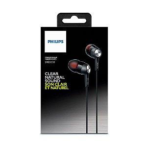 Fone de Ouvido Intra-Auricular Philips SHE8000 In-Ear Stereo com fio