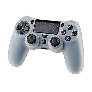 Capa de Silicone Transparente para Controle Dualshock 4 - PS4