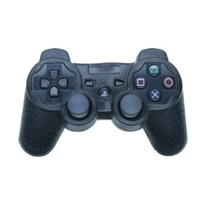 Capa de Silicone Preta para Controle Dualshock 3 - PS3