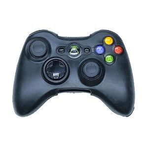 Capa de Silicone Preta para Controle - Xbox 360