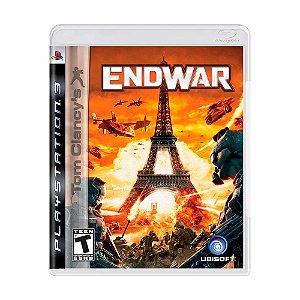 Jogo Tom Clancy's EndWar - PS3