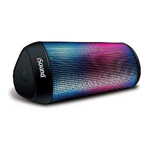 Caixa de Som Bluetooth iGlowSound Tower Preta - iSound