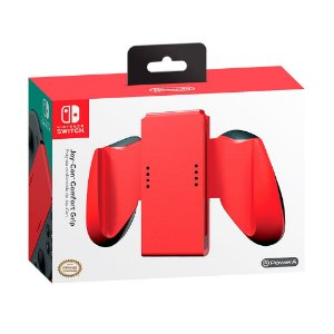 Joy-Con Confort Grip PowerA Vermelho - Switch