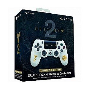 Controle Sony Dualshock 4 Destiny 2 Limited Edition sem fio (Com led frontal) - PS4