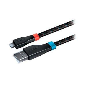Cabo Carregador Bionik Trançado 1.8m - Switch