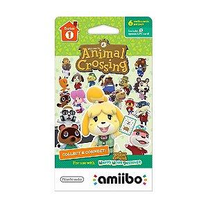 Cartão Nintendo Amiibo - Animal Crossing: Happy Home Designer (Série 1)