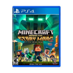 Jogo Minecraft: Story Mode (Season Two) - PS4