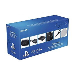 Kit de Viagem Travel Kit Sony 6 em 1 - PS Vita