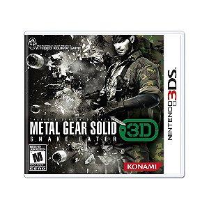 Jogo Metal Gear Solid 3: Snake Eater 3D - 3DS