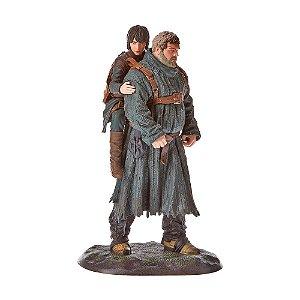 Action Figure Hodor e Bran Stark Game of Thrones - Dark Horse Deluxe
