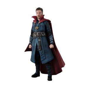 Action Figure Doctor Strange e Burning Flame Set - S.H.Figuarts