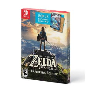 Jogo The Legend of Zelda: Breath of the Wild (Explorer's Edition) - Switch