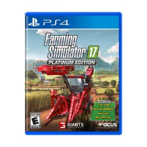 Jogo Farming Simulator 17 (Platinum Edition) - PS4