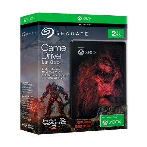 Game Drive Seagate 2TB (Halo Wars 2 Special Edition) - Xbox