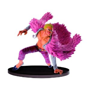 Action Figure Donquixote Doflamingo (Sculture Big Zoukeio Special) One Piece - Banpresto