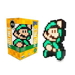 Luminária Pixel Pals Luigi 004 Super Mario Bros. 3 - PDP